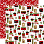Echo Park - Celebrate Christmas Collection - 12 x 12 Double Sided Paper - No Peeking