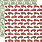 Echo Park - Celebrate Christmas Collection - 12 x 12 Double Sided Paper - Fresh Cut Trees