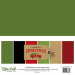Echo Park - Celebrate Christmas Collection - 12 x 12 Paper Pack - Solids