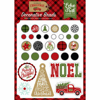 Echo Park - Celebrate Christmas Collection - Decorative Brads