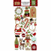 Echo Park - Celebrate Christmas Collection - Chipboard Stickers - Accents