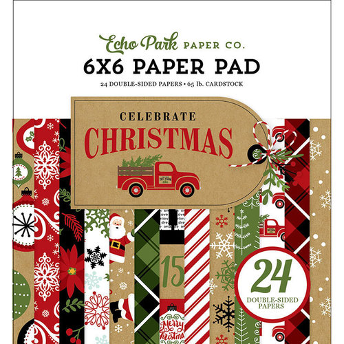 Echo Park - Celebrate Christmas Collection - 6 x 6 Paper Pad