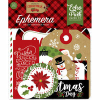 Echo Park - Celebrate Christmas Collection - Ephemera