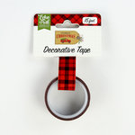 Echo Park - Celebrate Christmas Collection - Decorative Tape - Christmas Plaid