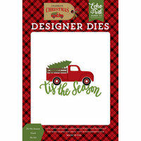 Echo Park - Celebrate Christmas Collection - Designer Dies - Tis the Season Truck
