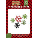 Echo Park - Celebrate Christmas Collection - Designer Dies - Christmas Day Snow