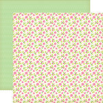 Echo Park - Country Drive Collection - 12 x 12 Double Sided Paper - Clover Meadow