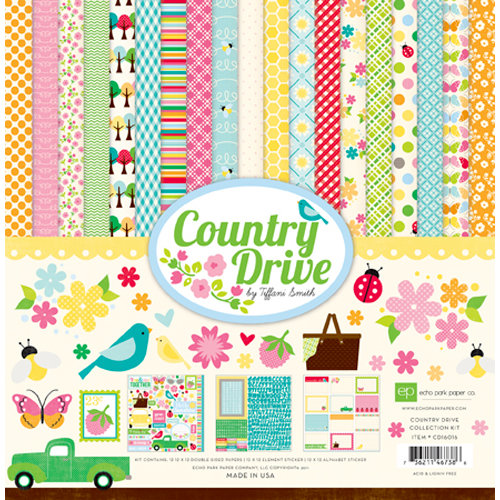 Echo Park - Country Drive Collection - 12 x 12 Collection Kit