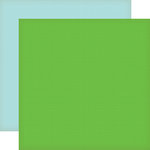 Echo Park - Country Drive Collection - 12 x 12 Double Sided Paper - Clover