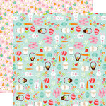 Echo Park - Celebrate Easter Collection - 12 x 12 Double Sided Paper - Easter Celebration