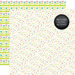 Echo Park - Celebrate Easter Collection - 12 x 12 Double Sided Paper with Glossy Accents - Jelly Beans