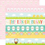 Echo Park - Celebrate Easter Collection - 12 x 12 Double Sided Paper - Border Strips