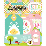 Echo Park - Celebrate Easter Collection - Ephemera - Frames and Tags