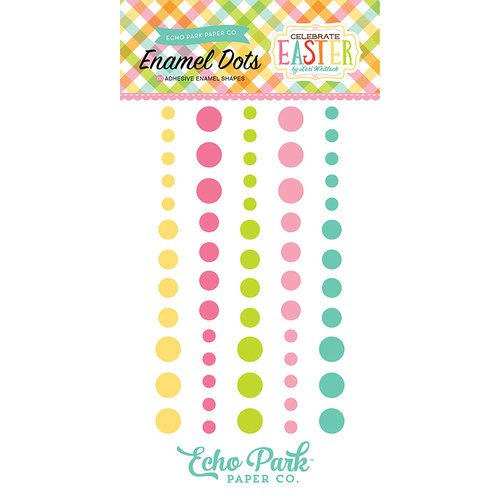 Echo Park - Celebrate Easter Collection - Enamel Dots
