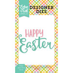 Echo Park - Celebrate Easter Collection - Designer Dies - Happy Easter Word