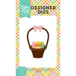 Echo Park - Celebrate Easter Collection - Designer Dies - Easter Basket and Eggs