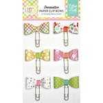 Echo Park - Celebrate Easter Collection - Decorative Paper Clip Bows