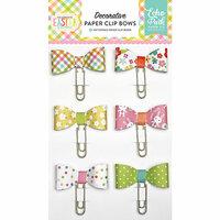Echo Park - Celebrate Easter Collection - Decorative Paper Clip Bows