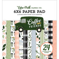 Echo Park - Coffee and Friends Collection - 6 x 6 Paper Pad