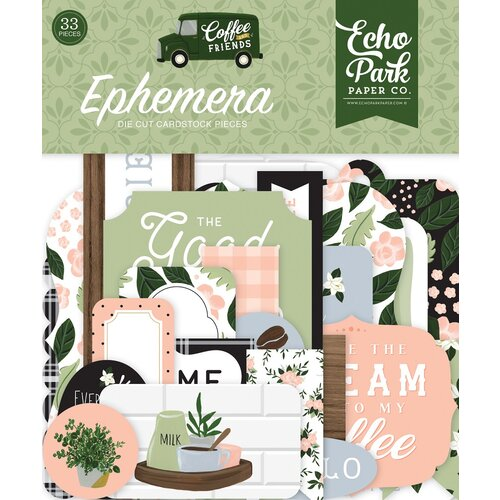 Echo Park - Coffee and Friends Collection - Ephemera