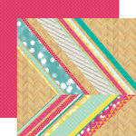 Echo Park - Capture Life Collection - 12 x 12 Double Sided Paper - Capture Today