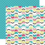 Echo Park - Capture Life Collection - 12 x 12 Double Sided Paper - Chevrons