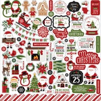 Echo Park - Christmas Magic Collection - 12 x 12 Cardstock Stickers - Elements
