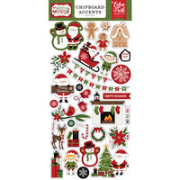 Echo Park - Christmas Magic Collection - Chipboard Embellishments - Accents