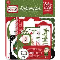 Echo Park - Christmas Magic Collection - Ephemera