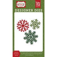 Echo Park - Christmas Magic Collection - Designer Dies - Seasonal Snowflakes