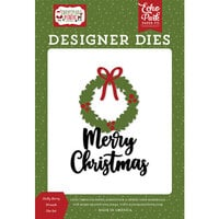 Echo Park - Christmas Magic Collection - Designer Dies - Holly Berry Wreath