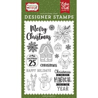 Echo Park - Christmas Magic Collection - Clear Photopolymer Stamps - Magical Christmas