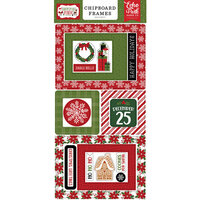 Echo Park - Christmas Magic Collection - Chipboard Embellishments - Frames