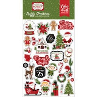 Echo Park - Christmas Magic Collection - Puffy Stickers