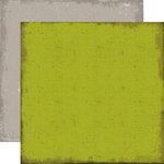 Echo Park - Chillingsworth Manor Collection - Halloween - 12 x 12 Double Sided Paper - Green
