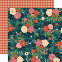 Echo Park - Coffee Collection - 12 x 12 Double Sided Paper - Wake Up And Smell the Flowers
