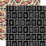 Echo Park - Coffee Collection - 12 x 12 Double Sided Paper - I Like Big Cups