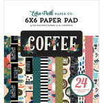 Echo Park - Coffee Collection - 6 x 6 Paper Pad