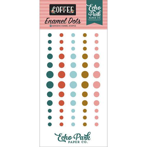 Echo Park - Coffee Collection - Enamel Dots