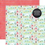 Echo Park - Celebrate Spring Collection - 12 x 12 Double Sided Paper with Glossy Accents - Spring Is Here