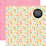Echo Park - Celebrate Spring Collection - 12 x 12 Double Sided Paper with Glossy Accents - Blooming Flowers