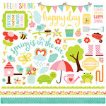 Echo Park - Celebrate Spring Collection - 12 x 12 Cardstock Stickers - Elements