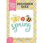 Echo Park - Celebrate Spring Collection - Designer Dies - Bloom into Spring
