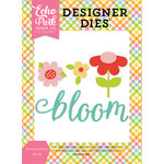 Echo Park - Celebrate Spring Collection - Designer Dies - Blooming Flowers