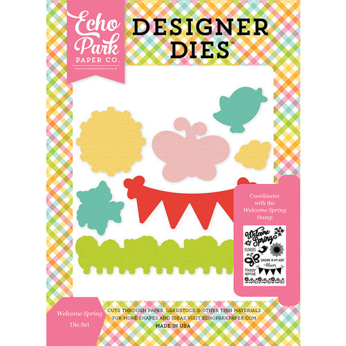 Echo Park - Celebrate Spring Collection - Designer Dies - Welcome Spring