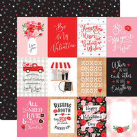 Echo Park - Cupid and Co. Collection - 12 x 12 Double Sided Paper - 3 x 4 Journaling Cards