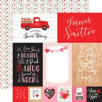 Echo Park - Cupid and Co. Collection - 12 x 12 Double Sided Paper - 4 x 6 Journaling Cards