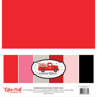 Echo Park - Cupid and Co. Collection - 12 x 12 Paper Pack - Solids