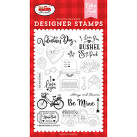 Echo Park - Cupid and Co. Collection - Clear Photopolymer Stamps - Be Mine