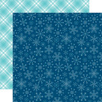 Echo Park - Celebrate Winter Collection - 12 x 12 Double Sided Paper - Snowflake Kisses